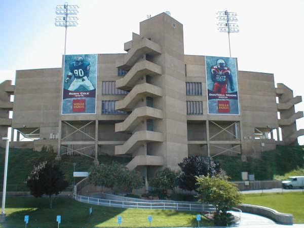 Stadium banner frames